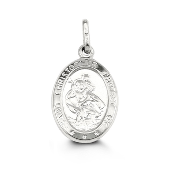10K GOLD SAINT CHRISTOPHER PENDANT - Appelt's Diamonds