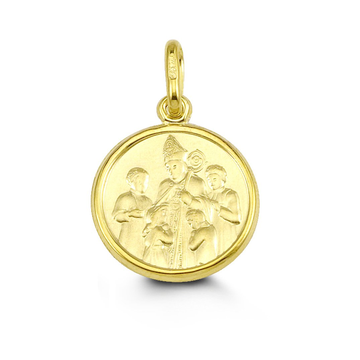 10K GOLD CONFIRMATION PENDANT