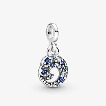 PANDORA ME MICRO SIZE MY BLUE OCEAN WAVE DANGLE - Appelt's Diamonds