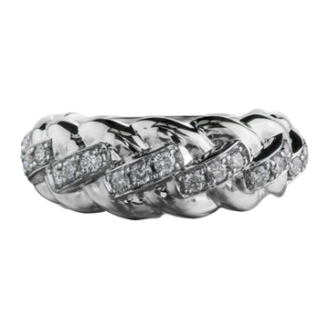 10K WHITE GOLD 0.50CTW DIAMOND RING - Appelt's Diamonds