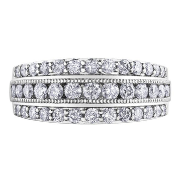 10K WHITE GOLD 1.01CTW DIAMOND RING - Appelt's Diamonds