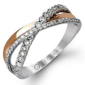 14KR ZEGHANI FASHION RING - Appelt's Diamonds
