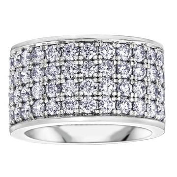 10K WHITE GOLD 3.00CTW DIAMOND RING - Appelt's Diamonds