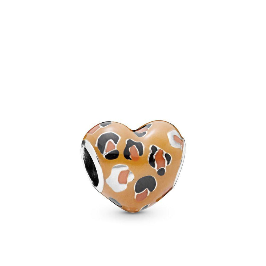 PANDORA SPOTTED HEART BEAD