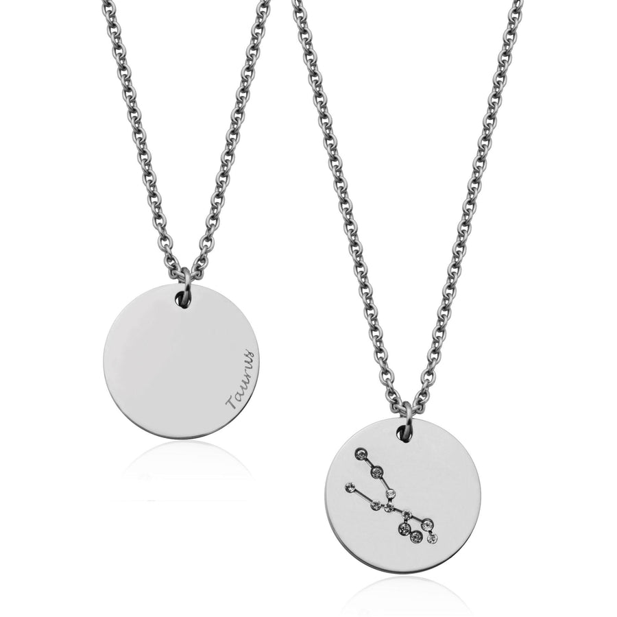 STEELX TAURUS CONSTELLATION NECKALCE