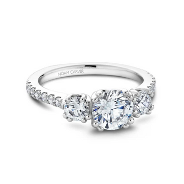 NOAM CARVER ENGAGEMENT RING B001-05WA-100A