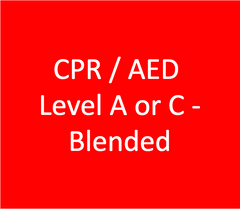 CPR / AED Level A or C - Blended