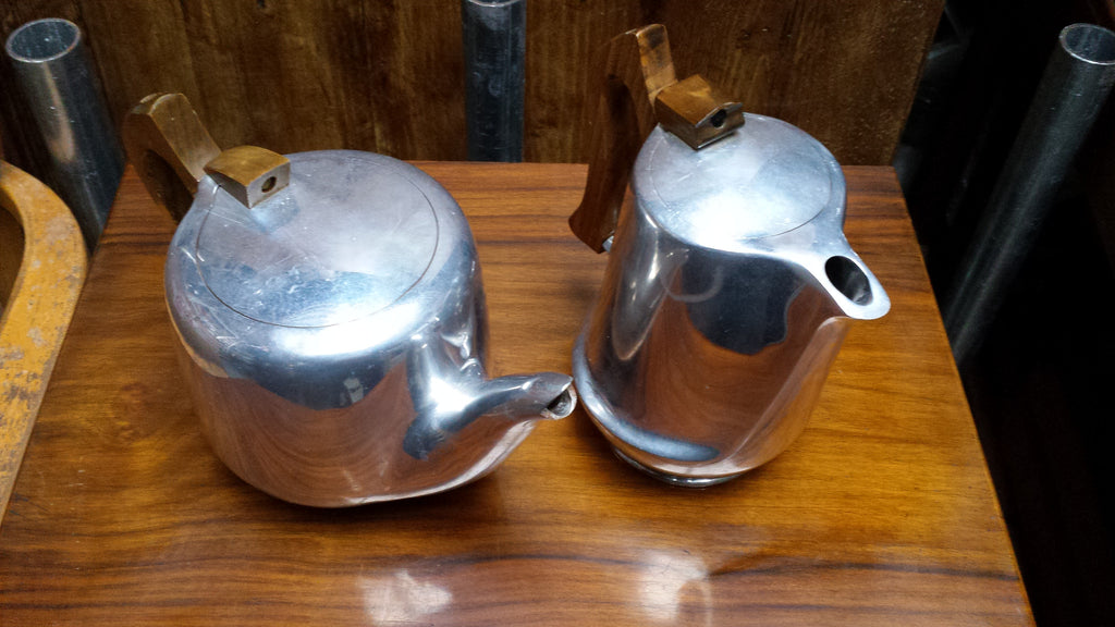 Picquot Ware Coffee Pot and Tea Pot Set