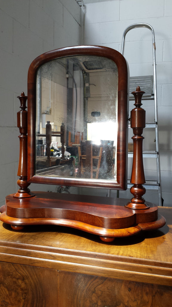 Restored Victorian Dressing Mirror