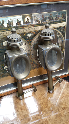Pair of French Carriage Lamps