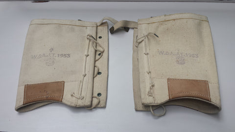 Pair of Vintage Army Gaiters