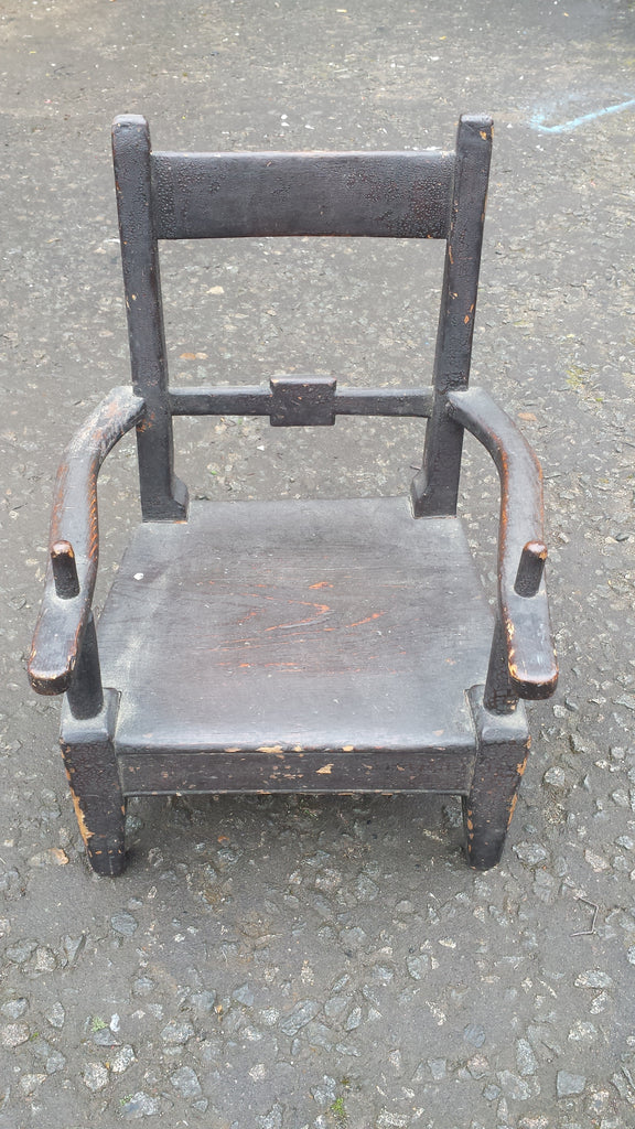 Antique Children's Chair