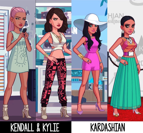 Kendall and Kylie Game