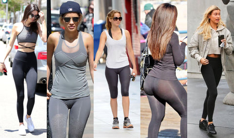 Celebrities in Yoga Pants