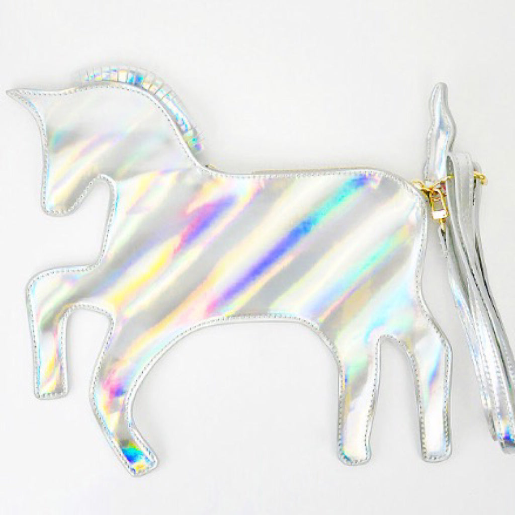 Unicorn Clutch Bag - Holographic - Clutch Bag - KryptikRose®