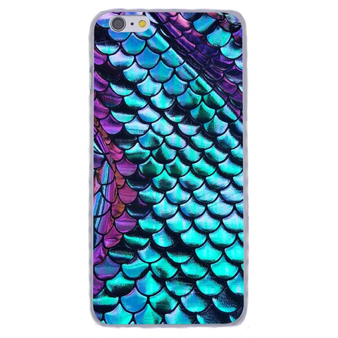 'Mermaid Tail' Hard Back iPhone Case (iPhone 8, 8 Plus, X)