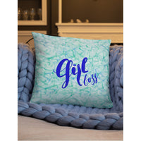 """Girl Boss"" Square Cushion/Pillow - Homeware - KryptikRose®"