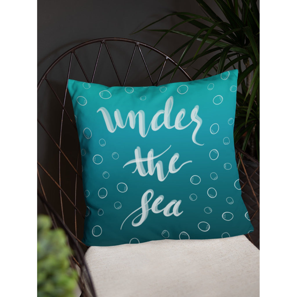 """Under the Sea"" Square Cushion/Pillow - Homeware - KryptikRose®"