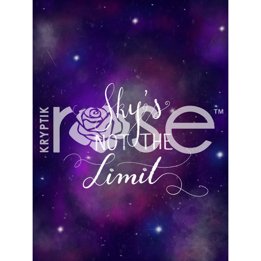 Sky's Not The Limit - iPhone/iPad Wallpaper - Wallpaper Download - KryptikRose®