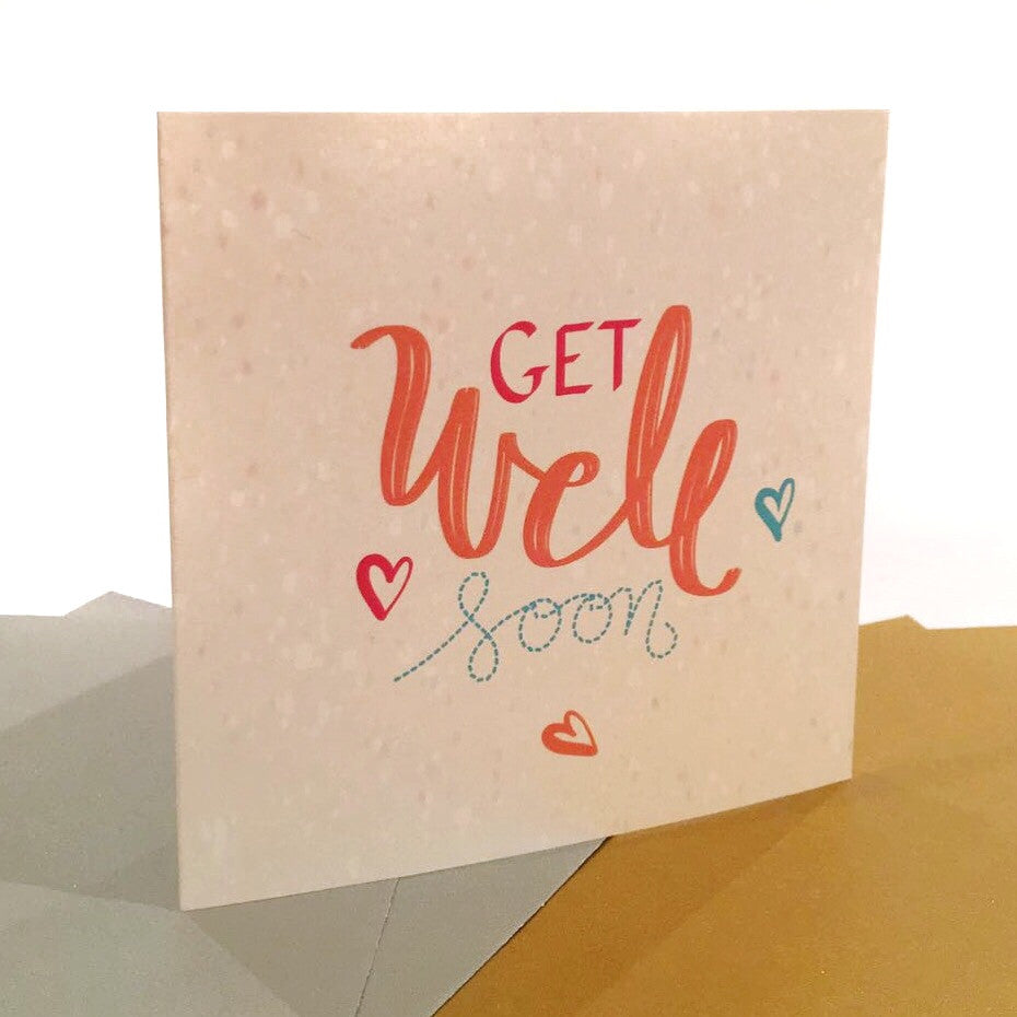 """Get Well Soon"" Greeting Card"
