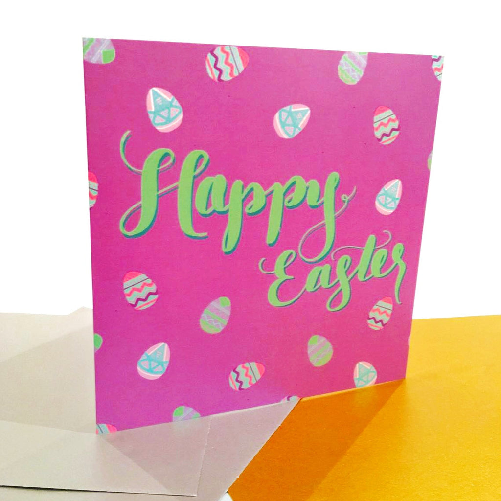 """Happy Easter"" Greeting Card - Greeting Cards - KryptikRose®"