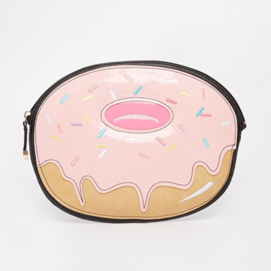 Doughnut Clutch Bag - Clutch Bag - KryptikRose®
