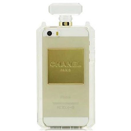 """Bottle of Perfume"" iPhone Case (Clear)"