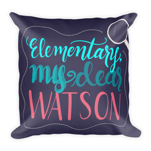 """Watson"" Square Cushion/Pillow"