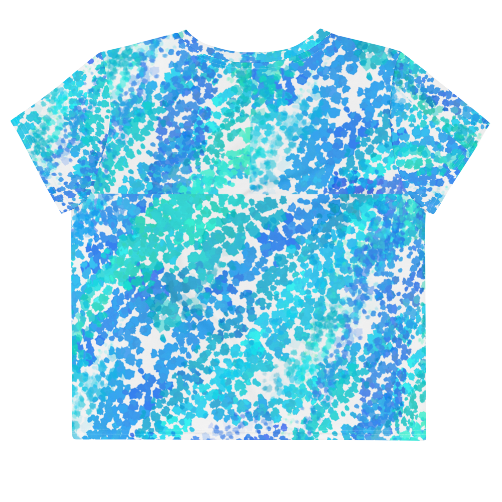 """Ocean Spray"" Crop Tee -  - KryptikRose®"