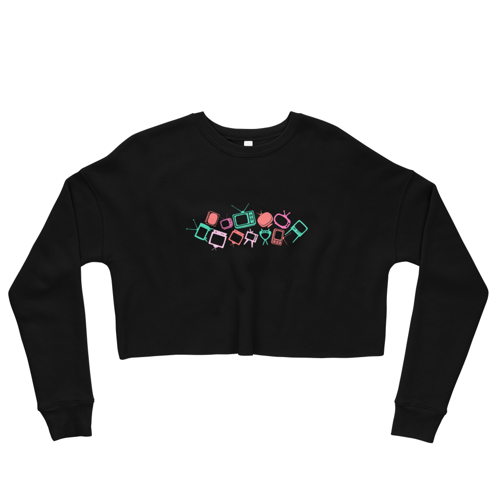 'Retro Tele' Crop Sweatshirt -  - KryptikRose®