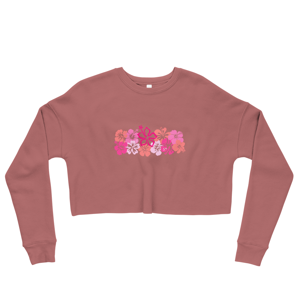 'The Tropics' Crop Sweatshirt - KryptikRose®