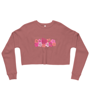 'The Tropics' Crop Sweatshirt -  - KryptikRose®