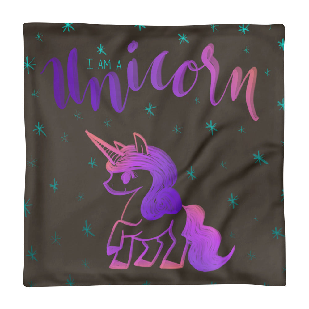 'I Am a Unicorn' Pillow Case only -  - KryptikRose®