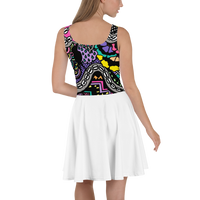 'OG broken Heart' Skater Dress -  - KryptikRose®