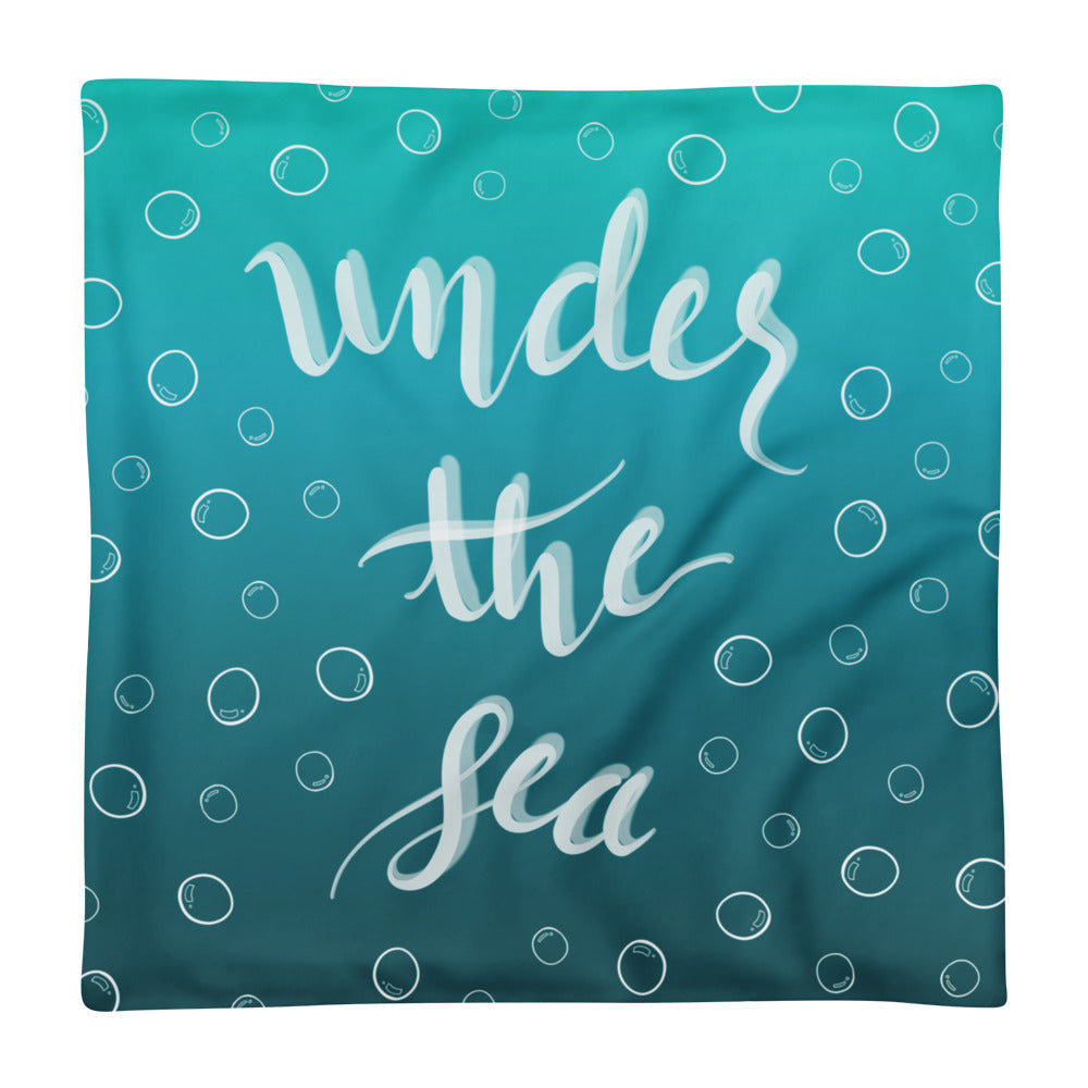 'Under The Sea' Pillow Case only -  - KryptikRose®