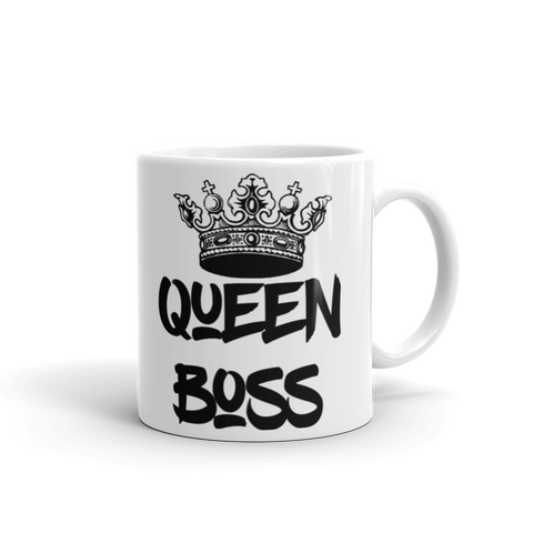 'Queen Boss' Mug - Mug - KryptikRose®