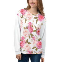 'Rose Blossom' Unisex Sweatshirt -  - KryptikRose®