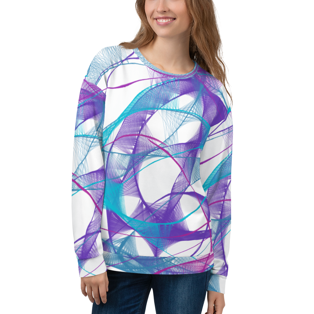 'Trippy Twilight' Sweatshirt - KryptikRose®