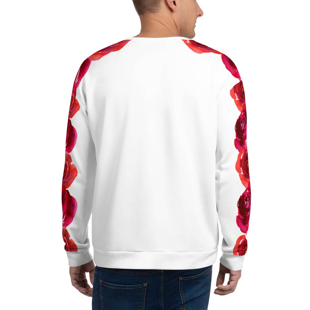 'Our Roses on Your Sleeve' Unisex Sweatshirt -  - KryptikRose®