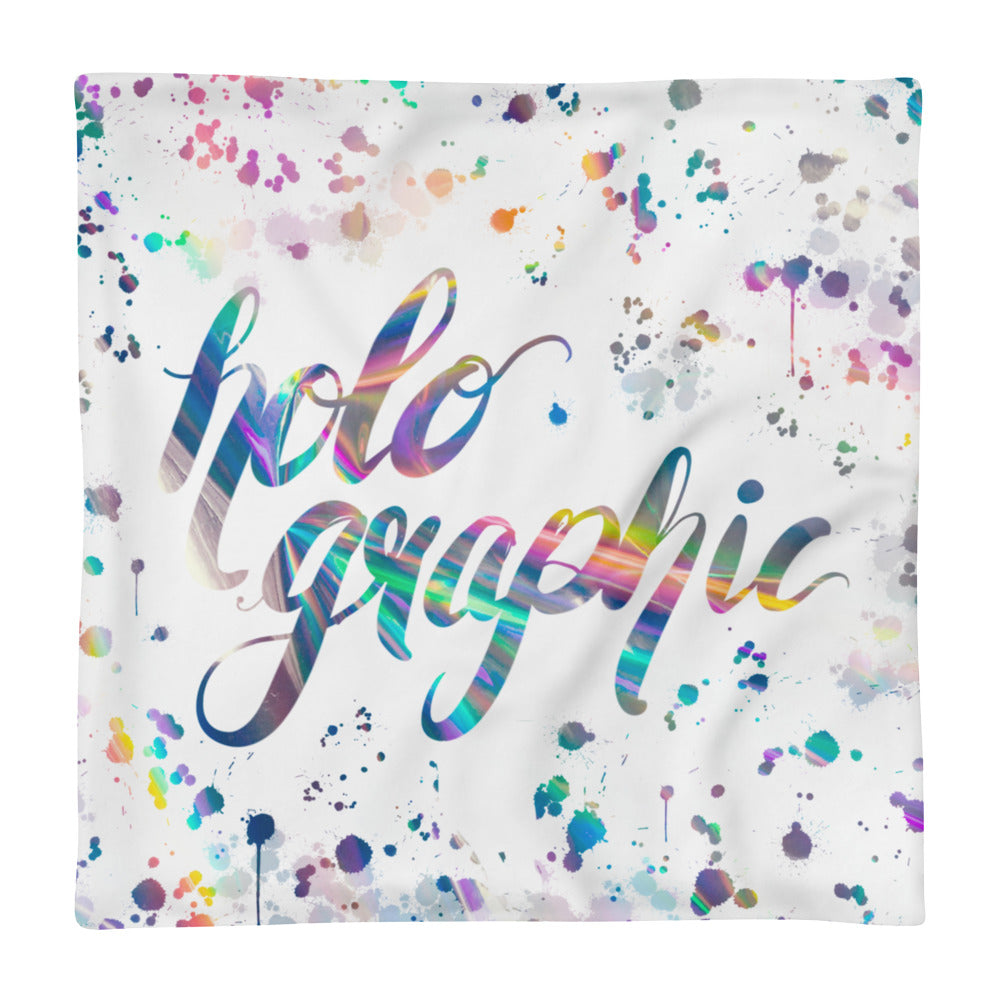 'Holo Rainbow Print' Pillow Case only -  - KryptikRose®