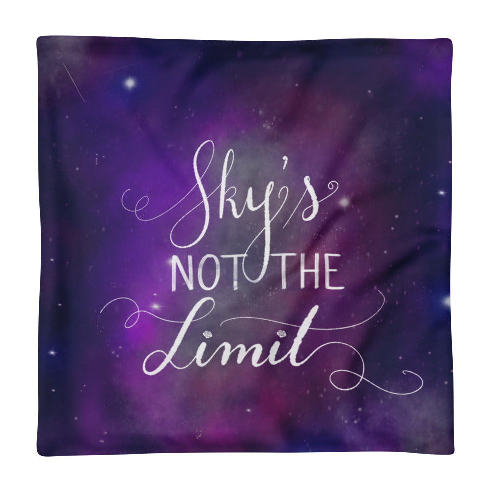 'Sky's Not The Limit' Pillow Case only - KryptikRose®