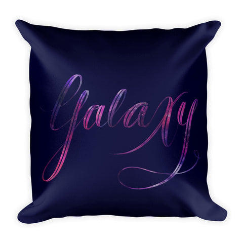 """Galaxy"" Square Cushion/Pillow - Cushion - KryptikRose®"