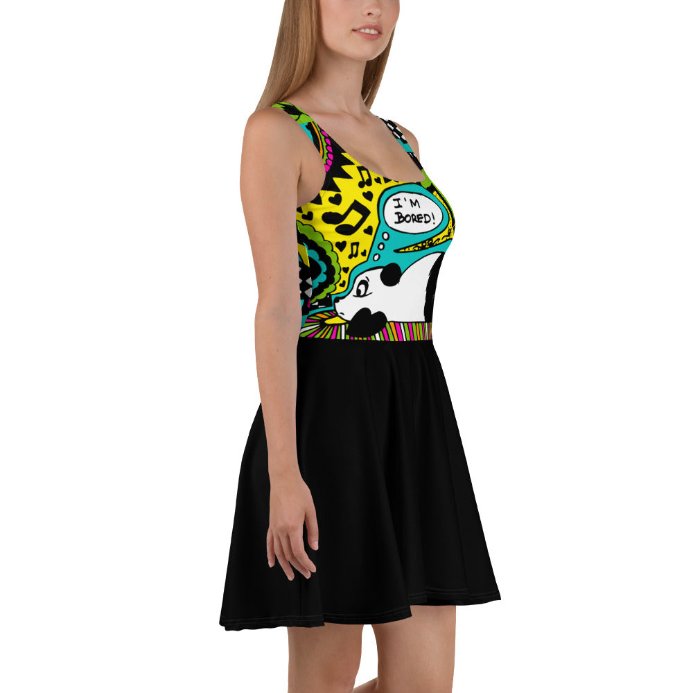 'Bored Panda' Skater Dress - KryptikRose®