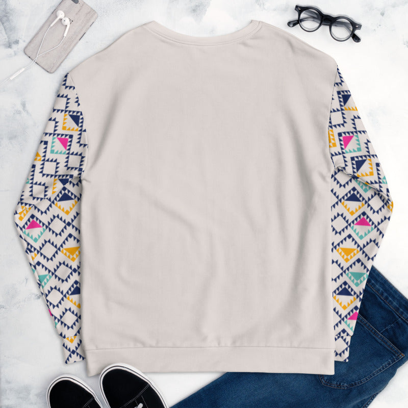 'Tri-Yellow Nude' Unisex Sweatshirt -  - KryptikRose®