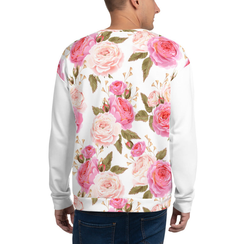 'Rose Blossom' Unisex Sweatshirt - KryptikRose®