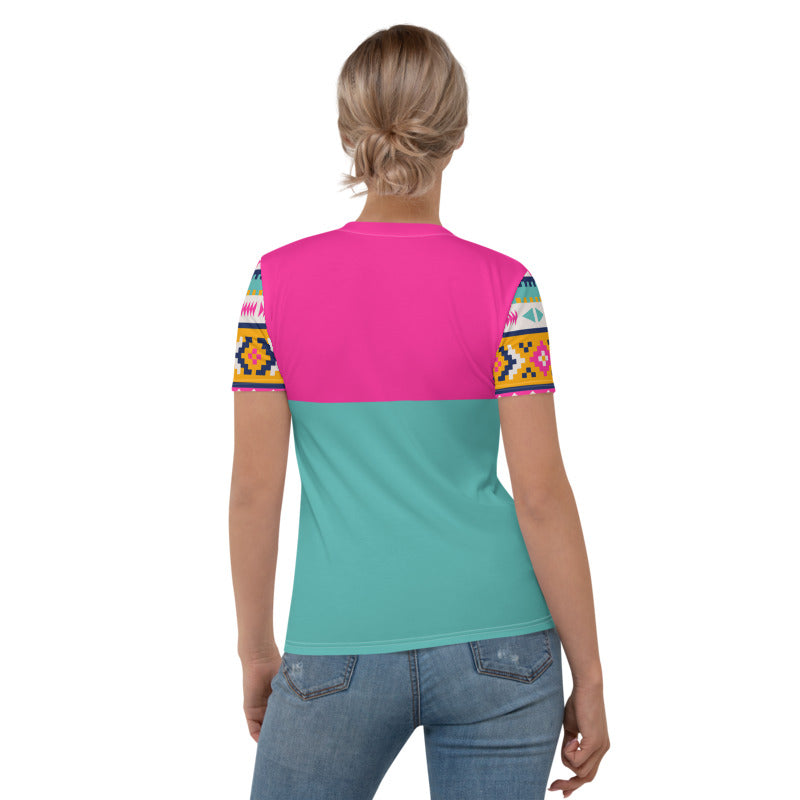 'Tecsie' Women's Tee - KryptikRose®
