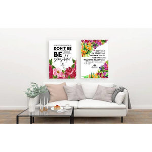 'Don't be BRAVE, Be Sensible' Printable Art -  - KryptikRose®