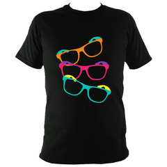 """Geeksome"" Black T-Shirt"