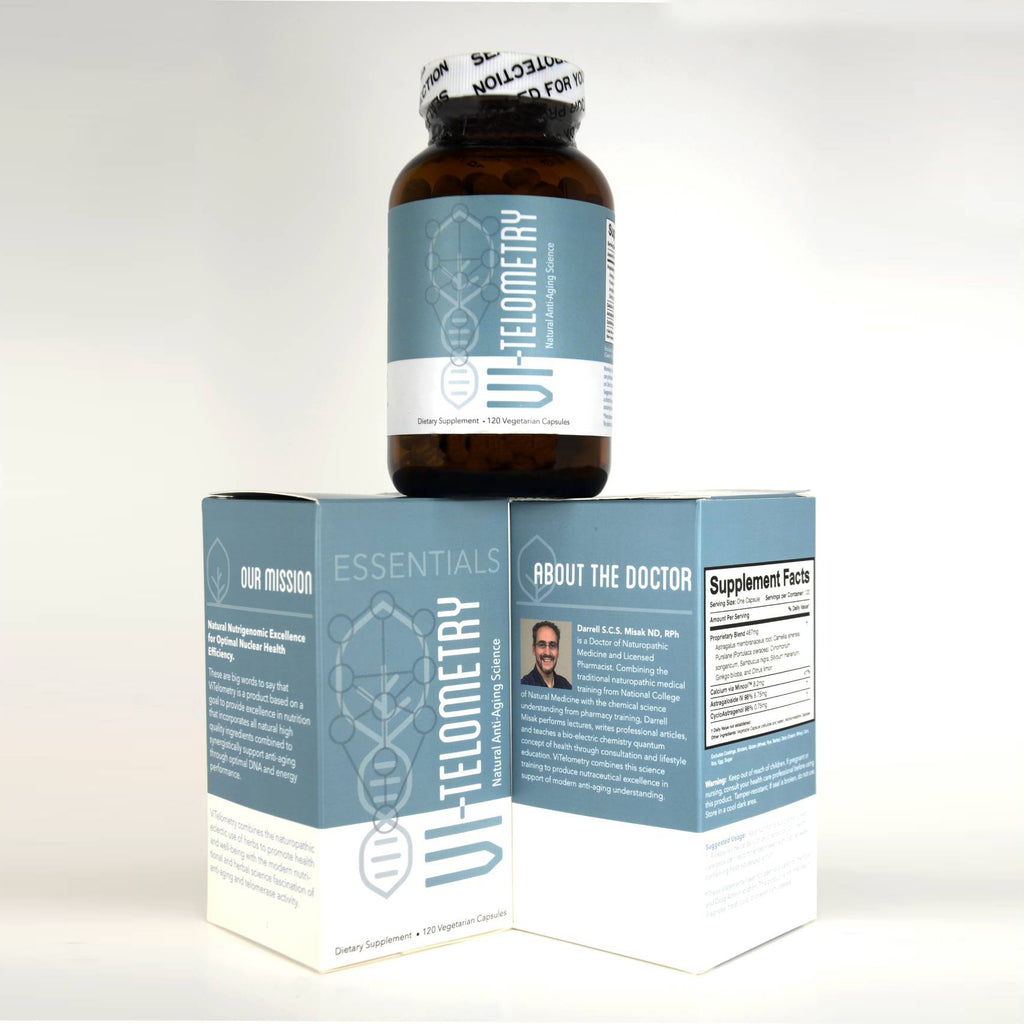 VI-Telometry Essentials <span>Telomere Focused Anti-Aging Science Supplement</span>