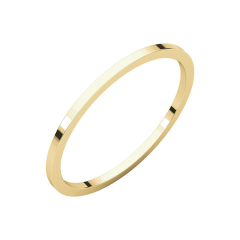 1mm Classic Band ring